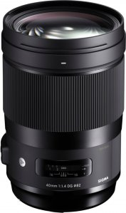Sigma 40mm f/1.4 DG HSM Art for Sony
