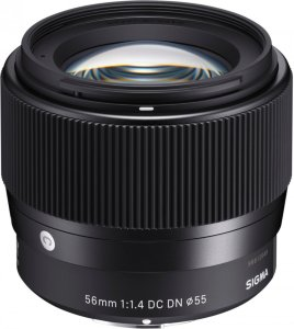 56mm f/1.4 DC DN for Sony
