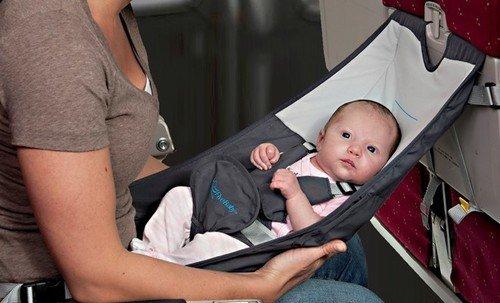 Flyebaby barneseng for fly