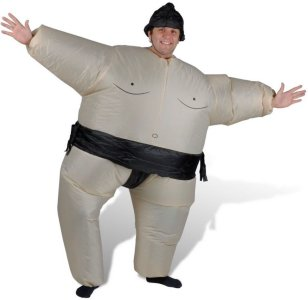 Oppblåsbart Sumo Kostyme