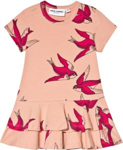 Mini Rodini Swallows Frill Dress