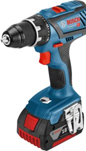Bosch Drill GSR 18 V EC 2x5Ah + Lader