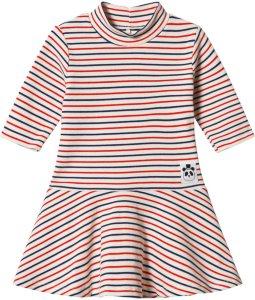 Mini Rodini Stripe Rib Dance Dress