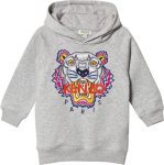 Kenzo Tiger Embroidered Hoody Dress