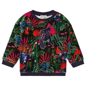Kenzo Tiger Velour Sweatshirt