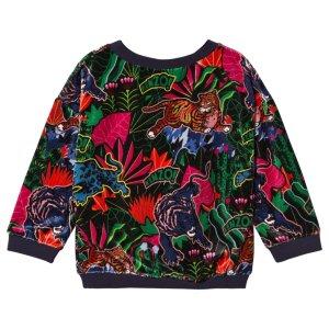 7d5e0a3f Best pris på Kenzo Tiger Velour Sweatshirt - Se priser før kjøp i ...