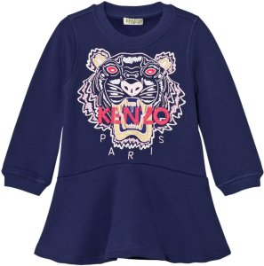 Kenzo Embroidered Tiger Sweat Dress