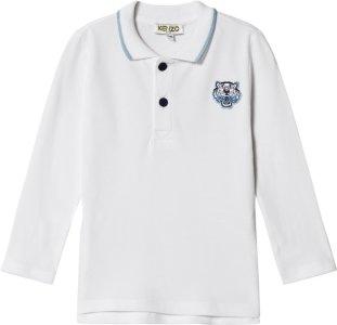 Kenzo Tiger Long Sleeve Polo