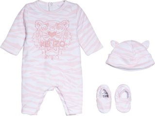 Kenzo Tiger Jersey Babygrow