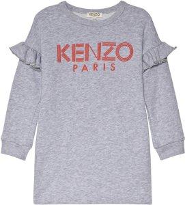 Kenzo Logo Frill Sleeve Dress