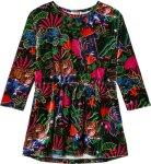 Kenzo Logo Jungle Velvet Dress