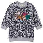 Kenzo Jungle Logo Sweat Dress