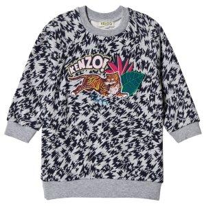 Kenzo Jungle Logo Sweat Dress