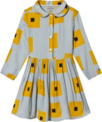 Bobo Choses Squares Princess Dress High-Rise