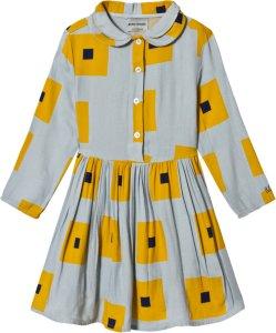 Bobo Choses Squares Princess Dress High-Rise