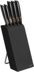 Fiskars Edge knivblokk 5 kniver