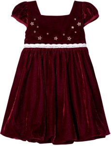 Jocko Velvet Christmas Dress