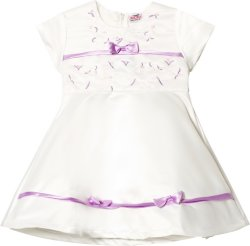 Jocko White Baby Dress
