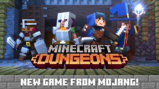 Minecraft: Dungeons til PC