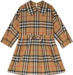 Burberry Antique Check Mini Cressida Dress
