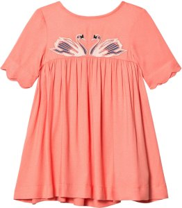 Stella McCartney Kids Swan Dress