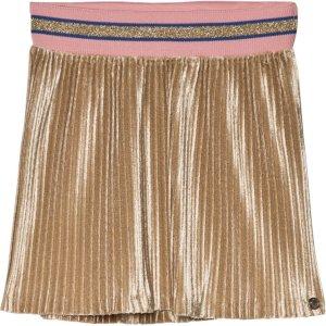 IKKS Gold Pleated Skirt