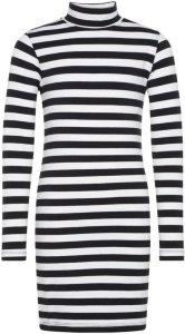 Name It Kids Striped High Neck Dress