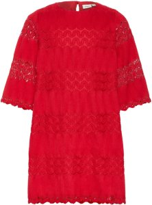 Name It Kids Pleated Woven A-line Dress