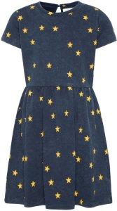 Name It Kids Star Print Sweat Dress