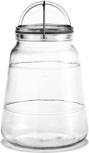 Holmegaard Scala oppbevaringsglass 2L