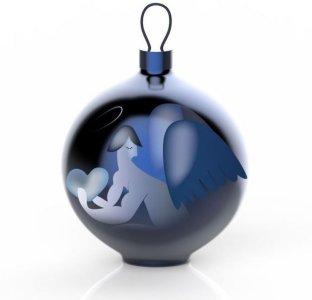 Alessi Blue Christmas Angelo julekule