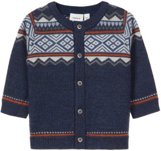 Name It Knitted Baby Wool Cardigan