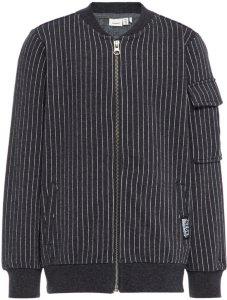 Name It Pin Striped Sweat Cardigan