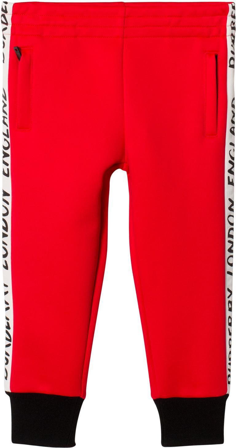 37500223 Best pris på Burberry Stripe Detail Sweatpants - Se priser før kjøp i  Prisguiden