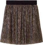 Little Marc Jacobs Gold Pleated Midi Skirt