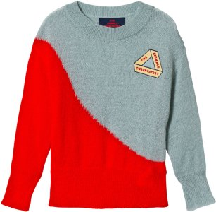 The Animals Observatory Bicolor Bull Sweater