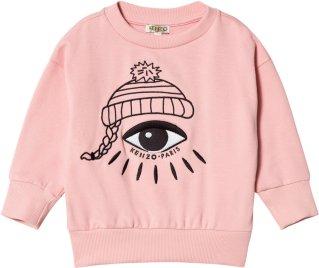 Kenzo Pink Eye Print Sweatshirt