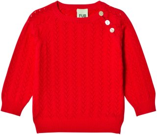 FUB Baby Pointelle Sweater