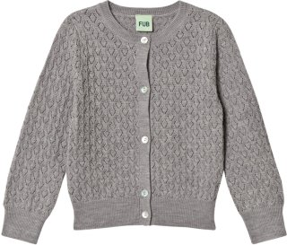 FUB Pointelle Cardigan