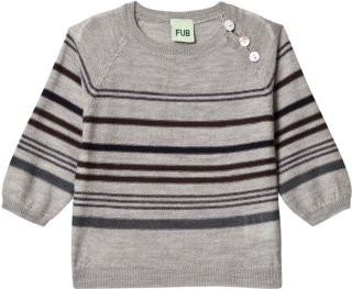 FUB Baby Multi Stripe Sweater