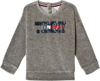 Tommy Hilfiger Sequin Branded Sweatshirt