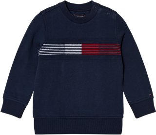 Tommy Hilfiger Embroidered Flag Sweater