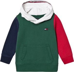 Tommy Hilfiger Colourblock Branded Hoodie