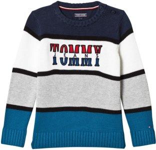 Tommy Hilfiger Branded Knit Sweater