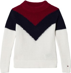 Tommy Hilfiger Colorblock Knitted Sweater