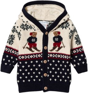 Ralph Lauren Bear Knit Hoodie