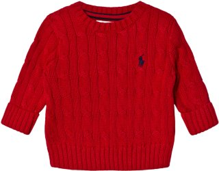 Ralph Lauren Baby Cable Knit Sweater