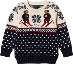 Ralph Lauren Bear Knit Sweater