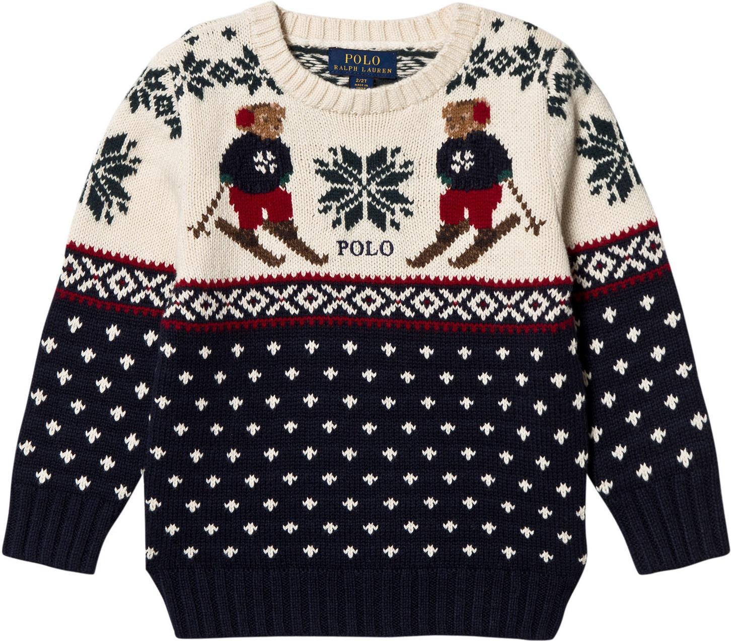 e061e089 Best pris på Ralph Lauren Bear Knit Sweater - Se priser før kjøp i  Prisguiden