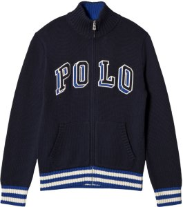 Ralph Lauren Polo Logo Zip Sweater